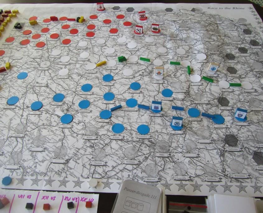 Tak wyglądała pierwsza w historii gra w Race to the Rhine