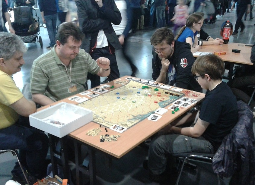 Prototyp gry 1944: Wyścig do Renu na festiwalu Pyrkon